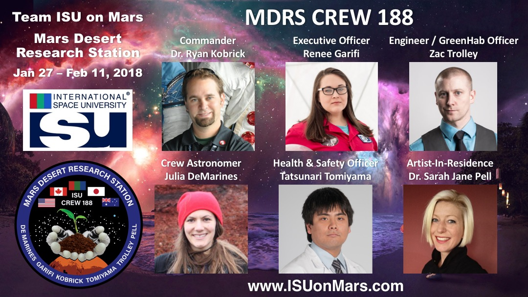 MDRS Crew 188 Day 0